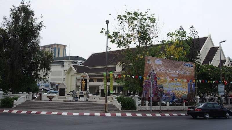 Songkran Festival Buddha Sathan