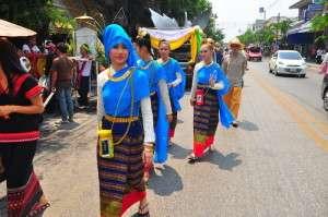 Songkran parade 2016
