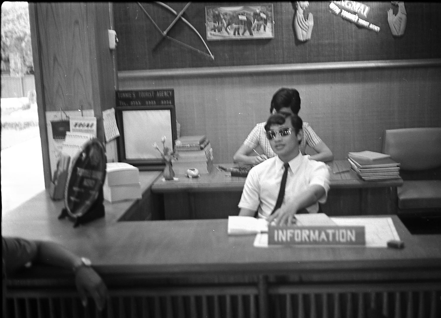 Tommie's Tourist Agency 1969. Picture by Jerry E.Reed.