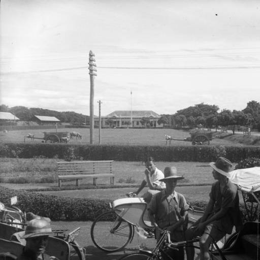 Railway station in 1926. Picture by Robert Larimore Pendleton.