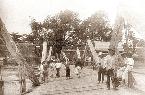 Khua Kula damaged before its collapse