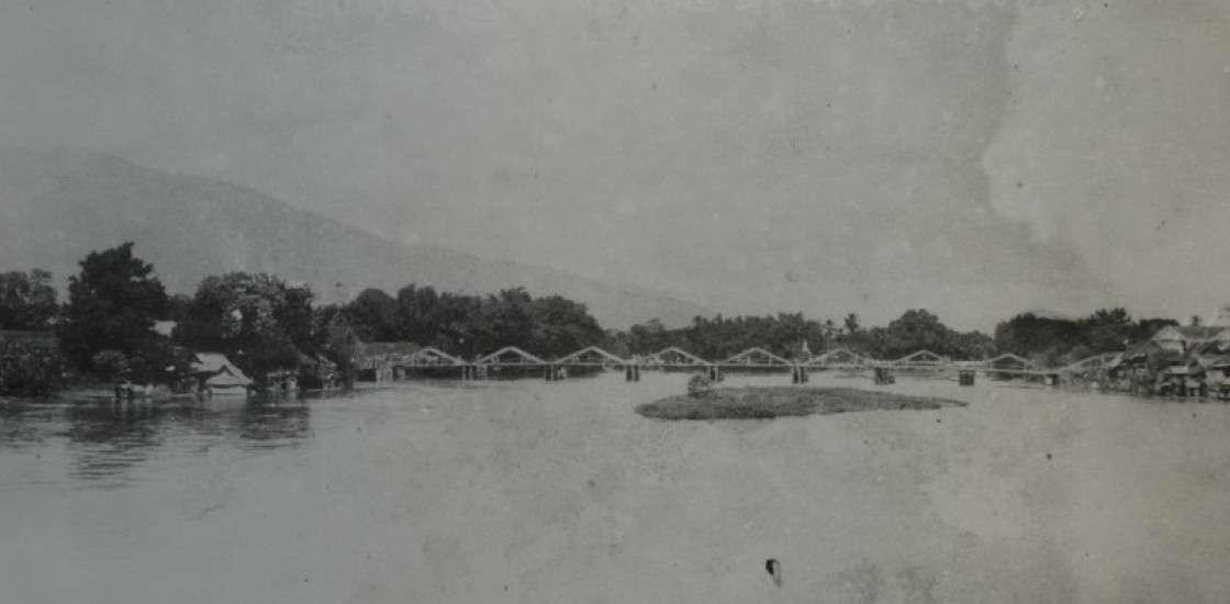 View on Khua Kula from the Nawarat Bridge
