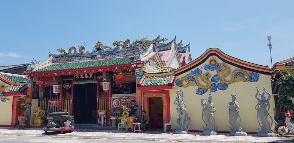 The Chao Mae Lim Ko Niao Shrine in Pattani