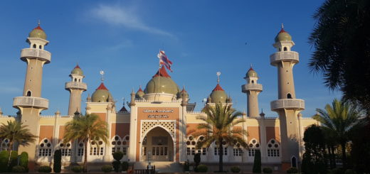 Central Mosque of the City Pattani in South Thailand