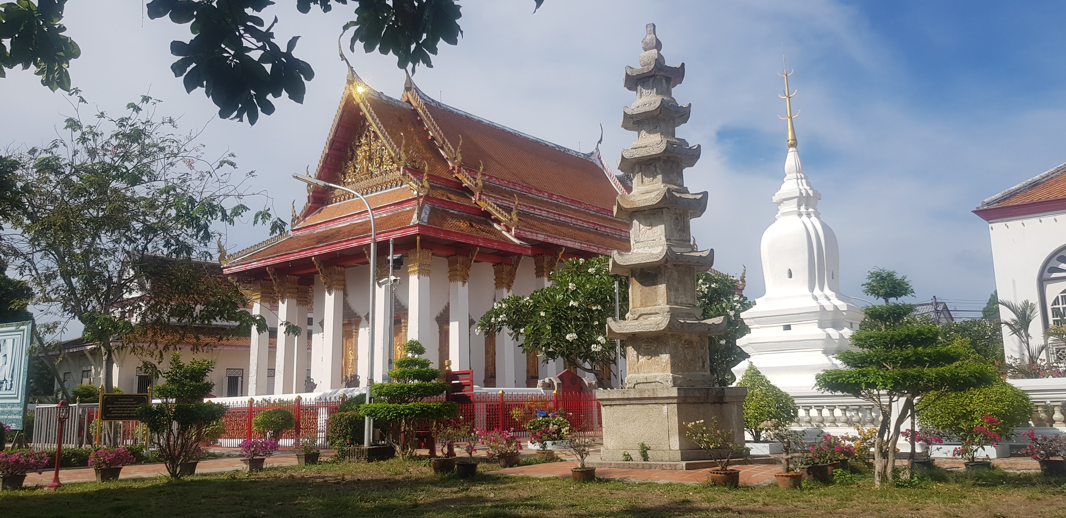 Songkhla's most important temple Wat Matchimawat