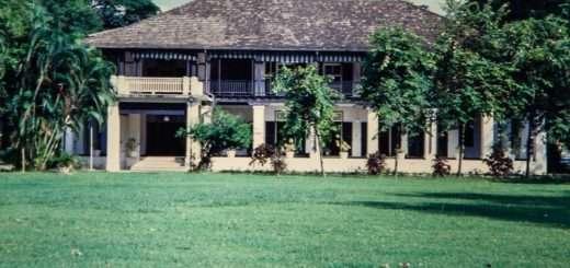 British Consulate outside