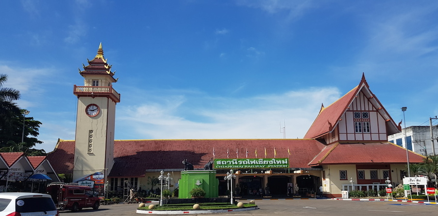 Front of Chiang Mai Railway Station 2018