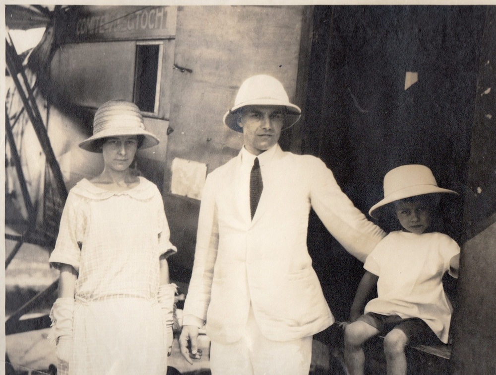 Salween Consular Tour Joyce, William, Denis Coultas in 1924