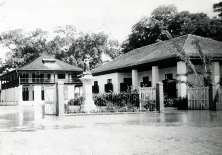 buildings of the former British consulate in Chiang Mai