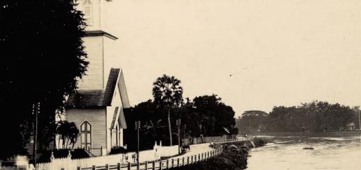 Wooden church first Christian Church